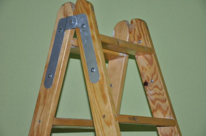 escaleras perez palacios escalera de tijera de madera